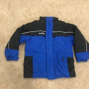 Youth Boys Columbia Winter Jacket Size 10-…